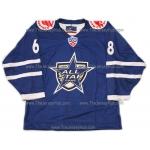 KHL All Star Game 2009 Russian Hockey Jersey Jagr Dark