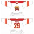 Kunlun Red Star Hockey Jersey Light