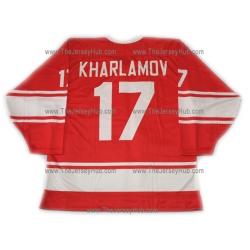 Team USSR 1972 Soviet Russian Hockey Jersey Kharlamov Dark