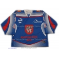 HC Decin 2012-13 Czech Liga #1 Goalie Czech Hockey Jersey Dark