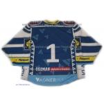 HC Vagnerplast Kladno 2010-11 Czech Extraliga #1 Goalie  Hockey Jersey Dark