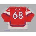 Team Czech Republic Jaromir Jagr Czech Hockey Jersey Dark
