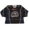 Medvedi (Bears) Beroun 2012-13 Czech Liga #1 Goalie Czech Hockey Jersey Dark
