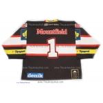 HC Mountfield 2013-14 Czech Extraliga #1 Czech Hockey Jersey Dark