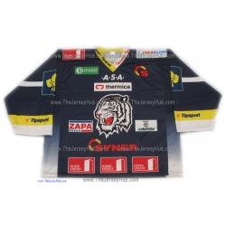 HC  White Tigers Liberec 2012-13 Czech Extraliga Czech Hockey Jersey Dark