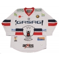 Berlin Ice Bears Juniors 2016-17 Official Game Worn German #7 Goalie Hockey Jersey Dark