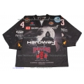 Hannover Indians Thomas Ower 2010-11 Halloween Edition Used Replica German Hockey Jersey Dark