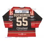 Hannover Scorpions 2016-17 Vojtech Suchomer German Hockey Jersey Dark