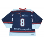 Jungadler Mannheim Official Game Worn German Hockey Jersey Dark