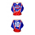 Stars of Russia 1996 Russian Hockey Jersey Dark