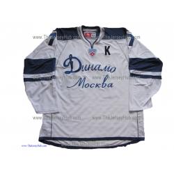 Dynamo Moscow 2008-09 Russian Hockey PRO Jersey Alexei Zhitnik Light