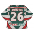 AK Bars Kazan 2009-10 Russian Hockey Jersey Jarkko Immonen Dark