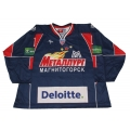 Metallurg Magnitogorsk 2009-10 #1 Goalie Russian Hockey Jersey Dark