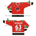 Metallurg Novokuznetsk 2009-10 Russian Hockey Jersey Dark