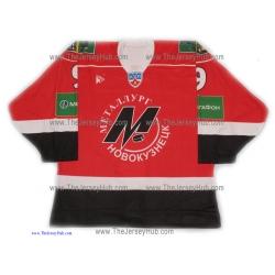 Metallurg Novokuznetsk 2009-10 Russian Hockey Jersey Orlov Dark
