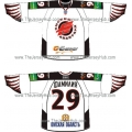 Avangard Omsk 2010-11 Russian Hockey Jersey Light