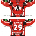 Avtomobilist Yekaterinburg 2010-11 Russian Hockey Jersey Dark