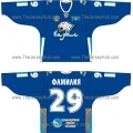 Barys Astana 2010-11 Russian Hockey Jersey Dark