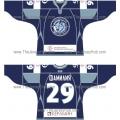 Dinamo Dynamo Minsk 2010-11 Russian Hockey Jersey Dark