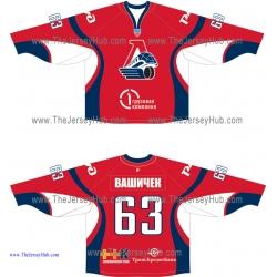 Lokomotiv Yaroslavl 2010-11 Russian Hockey Jersey Dark