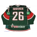 AK Bars Kazan 2011-12 Russian Hockey PRO Jersey Jarkko Immonen Dark