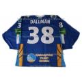 Barys Astana 2011-12 Russian Hockey Jersey Dallman Dark