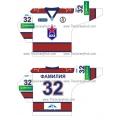 CSKA Moscow 2011-12 Russian Hockey Jersey Light