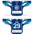 Dinamo Dynamo Minsk 2011-12 Russian Hockey Jersey Dark