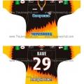 Severstal Cherepovets 2011-12 Russian Hockey Jersey Dark