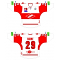 Spartak Moscow 2011-12 Russian Hockey Jersey Light