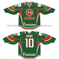 Ak Bars Kazan 2012-13 Russian Hockey Jersey Dark