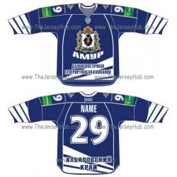 Amur Khabarovsk 2012-13 Russian Hockey Jersey Dark