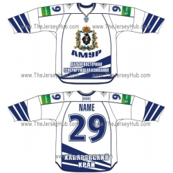 Amur Khabarovsk 2012-13 Russian Hockey Jersey Light