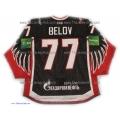 Avangard Omsk 2012-13 PRO Russian Hockey Jersey Anton Belov Dark