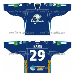 Barys Astana 2012-13 Russian Hockey Jersey Dark