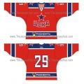 CSKA Moscow 2012-13 Russian Hockey Jersey Dark