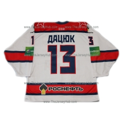 CSKA Moscow 2012-13 Russian Hockey Jersey Pavel Datsyuk Light