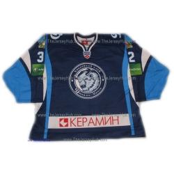 Dinamo Dynamo Minsk Pekka Rinne 2012-13 Goalie Russian Hockey Jersey Dark