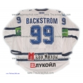 Dynamo Moscow 2012-13 Russian Hockey PRO Jersey Nicklas Backstrom Light