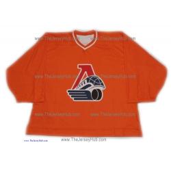 Lokomotiv Yaroslavl 2012-13 Goalie Russian Practice Hockey Jersey