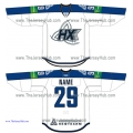 Neftekhimik Nizhnekamsk 2012-13 Russian Hockey Jersey Light