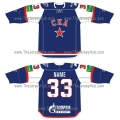 SKA St. Petersburg 2012-13 Russian Hockey Jersey Dark