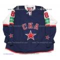 SKA St. Petersburg 2012-13 Russian Hockey PRO Jersey Artemi Panarin #8 Dark