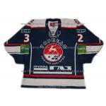 Torpedo Nizhny Novgorod KHL 2012-13 Russian Hockey Jersey Semin Syomin Dark