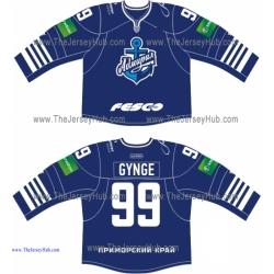 Admiral Vladivostok 2013-14 Russian Hockey Jersey Dark