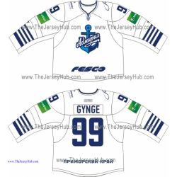 Admiral Vladivostok 2013-14 Russian Hockey Jersey Light