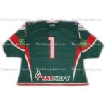 Ak Bars Kazan 2013-14 #1 Goalie Russian Hockey Jersey Dark