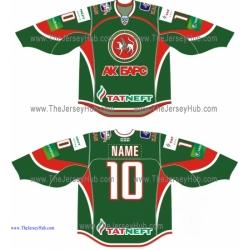 Ak Bars Kazan 2013-14 Russian Hockey Jersey Dark