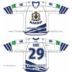 Amur Khabarovsk 2013-14 Russian Hockey Jersey Light