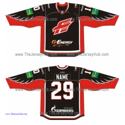 Avangard Omsk 2013-14 Russian Hockey Jersey Dark